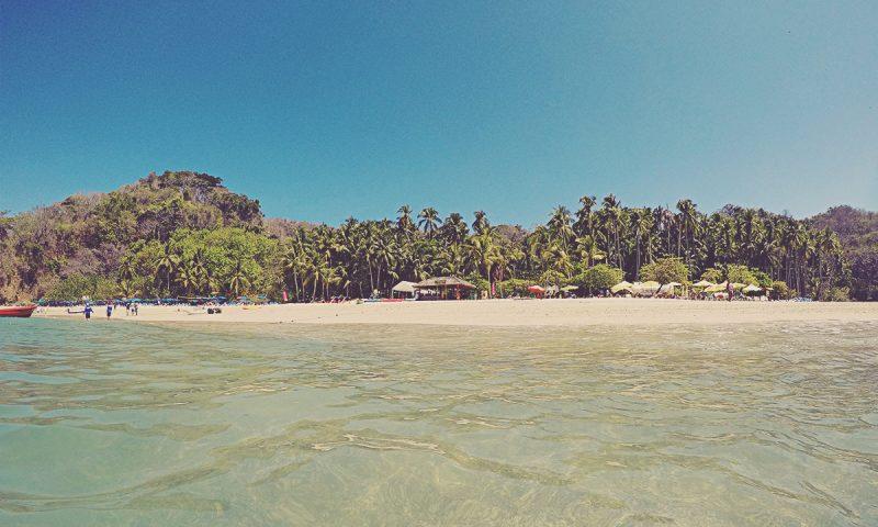 Playa de Isla Tortuga. Costa Rica