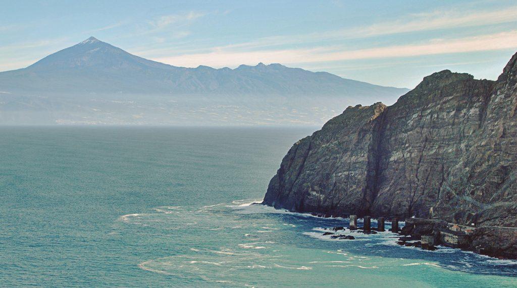 Pescante de Hermigua, desde el mirador de La Punta. La Gomera.