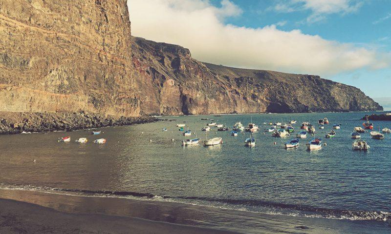 Playa de Vueltas, La Gomera