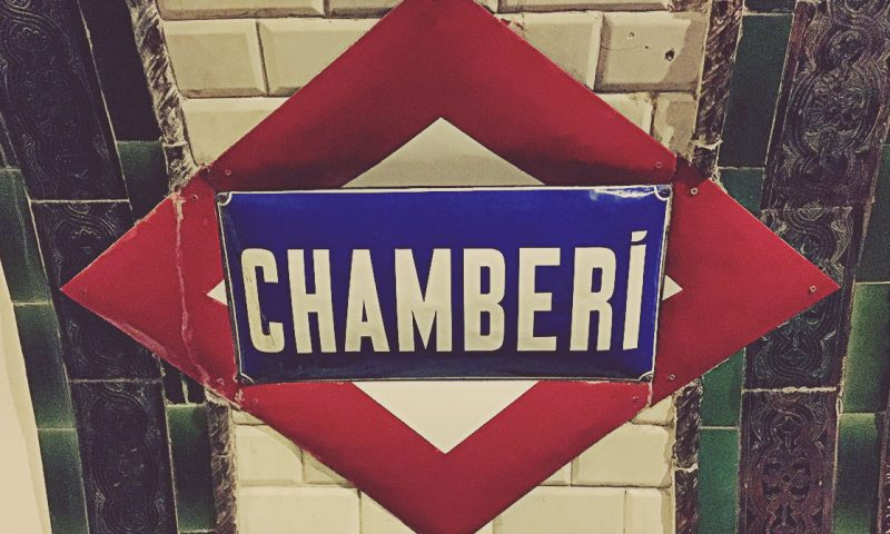 Estación de Chamberí, Madrid