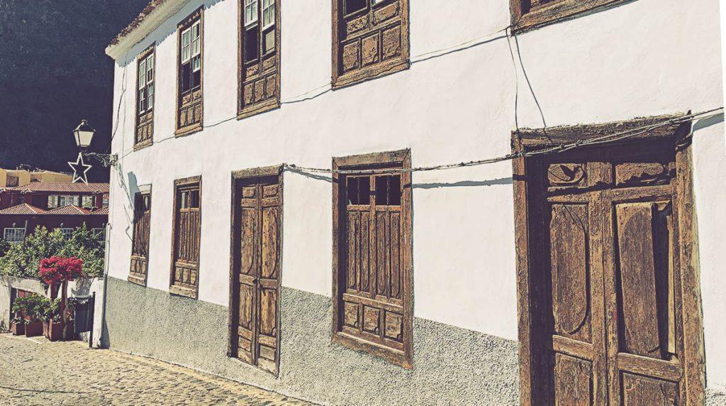Casona casco histórico Agulo