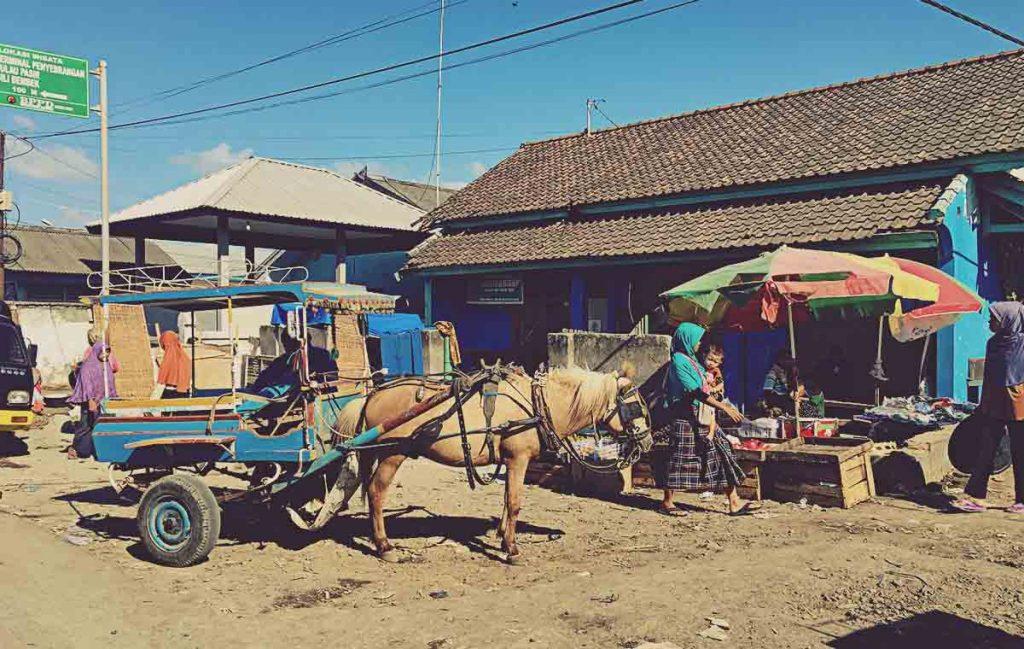 Calle en Lombok