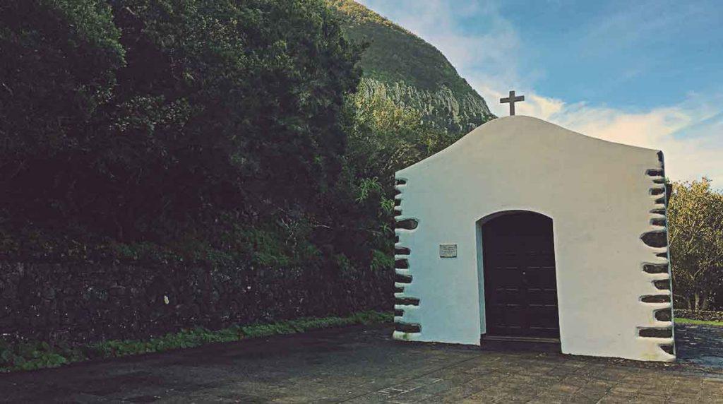 Ermita de San Isidro Labrador, en La Gomera.