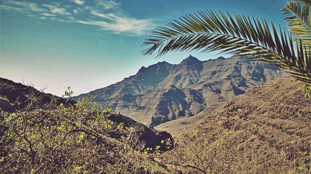 Vistas desde los Azulejos de Veneguera. Gran Canaria