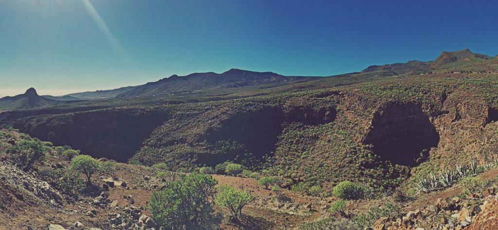 Entorno del Barranco de las Vacas, en Gran Canaria