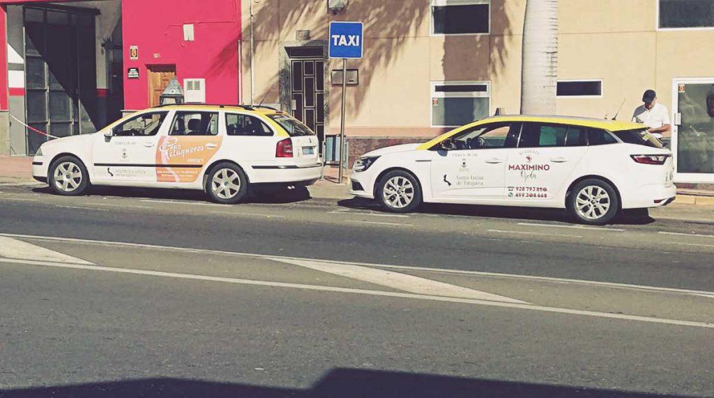 Taxis en Gran Canaria