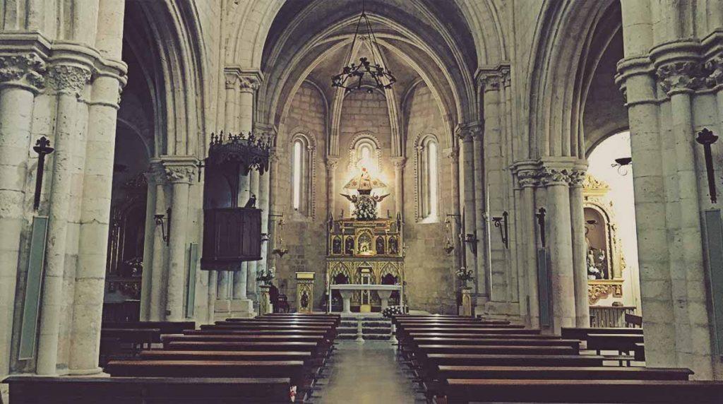 Interior-Iglesia-Santa-Maria-de-la-Peña-Brihuega