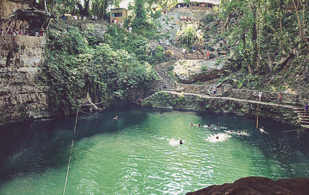 Cenote Zací. Cerca de Valladolid.