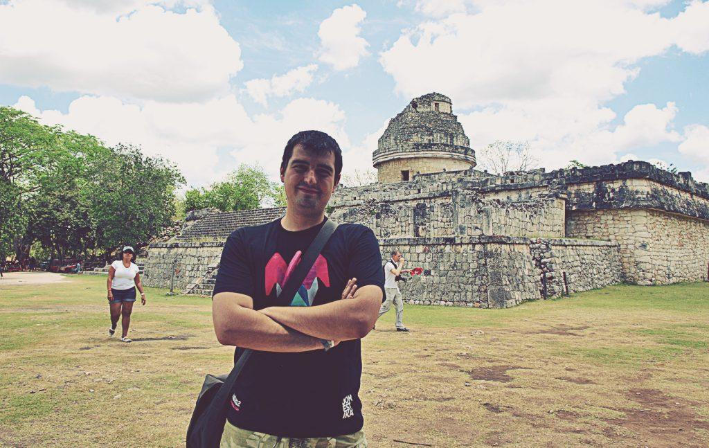 Chichén Itzá. El Observatorio. También llamado El Caracol