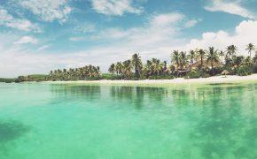 Playa en Isla Contoy, Riviera Maya.