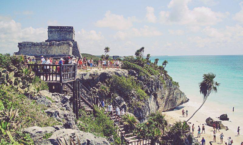 Tulum. El Castillo y playa