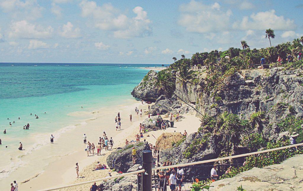 Tulum. Playa