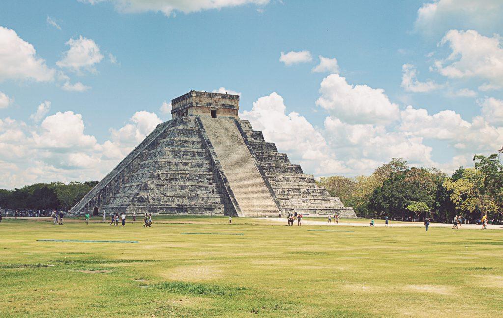 Chichén Itzá. Pirámide Kukulcán. También llamada El Castillo