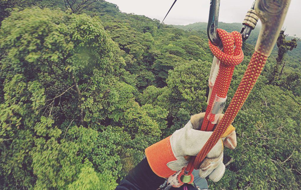 Canopy en Selvatura Park. Monteverde, Costa Rica.