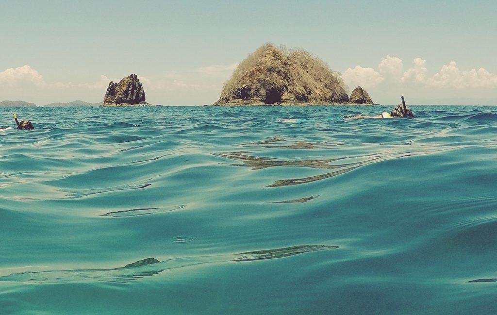 Snorkel en Isla Tortuga. Costa Rica