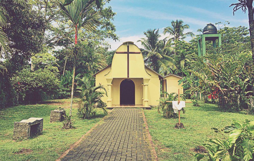 Iglesia de Tortuguero. Costa Rica
