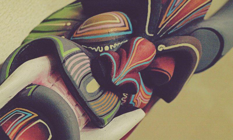 máscara boruca