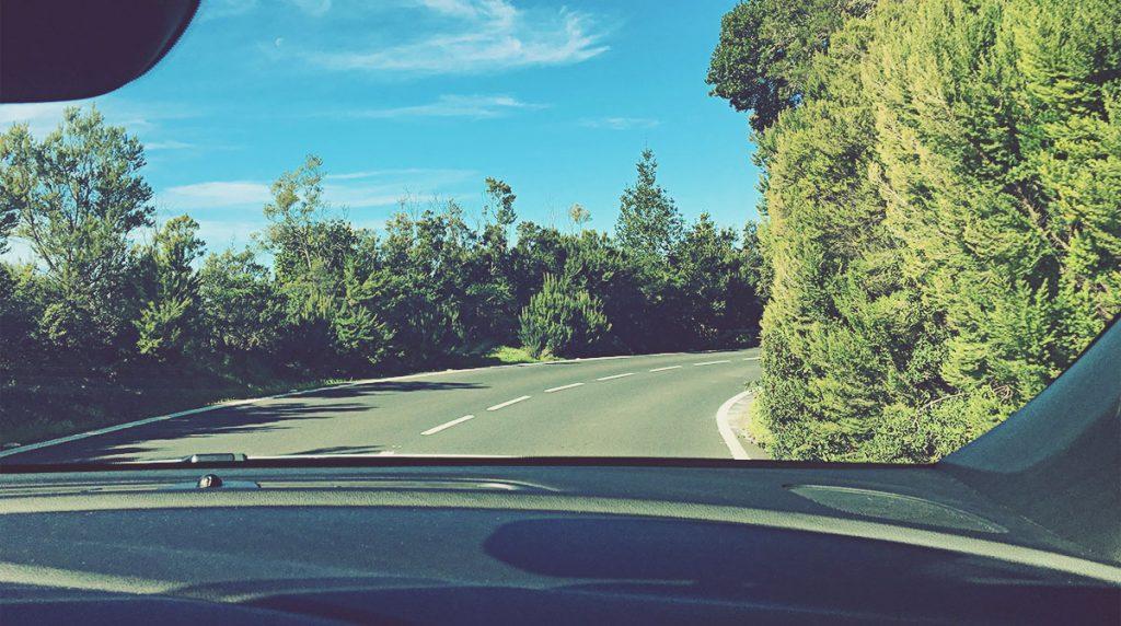 Carretera en La Gomera