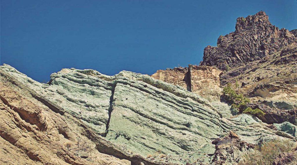 Azulejos de Veneguera, Gran Canaria