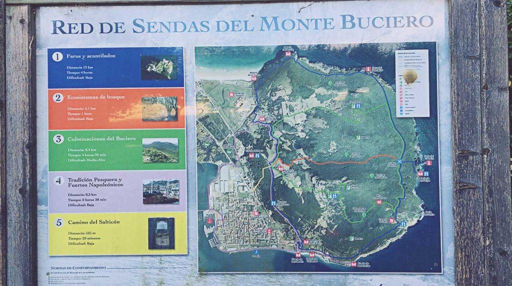 Rutas en Monte Buciero y Faro del Caballo
