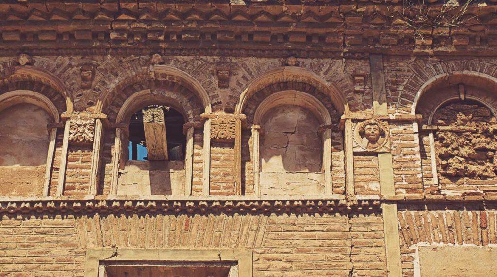 Detalle-Calle-Mayor-Pueblo-Viejo-de-Belchite