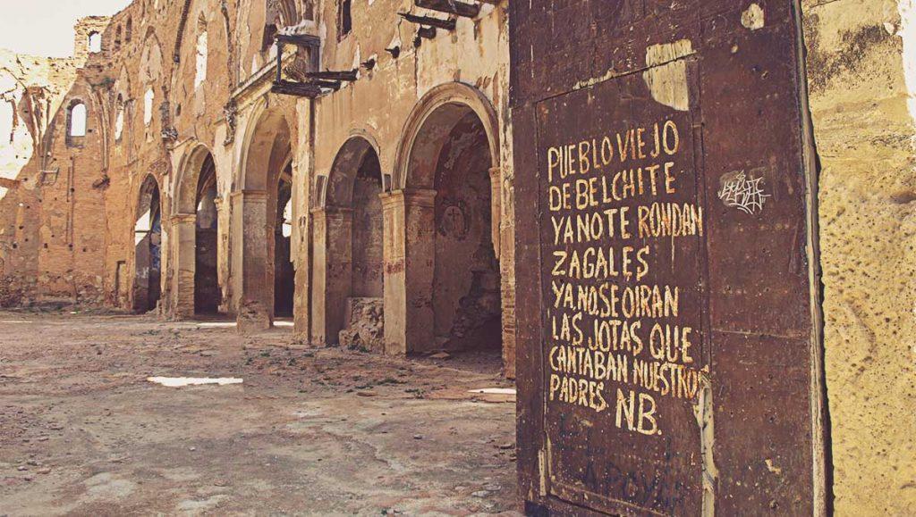 Iglesia-de-San-Martín-de-Tours-Pueblo-Viejo-de-Belchite
